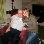 Grandpa and Me, December 2011