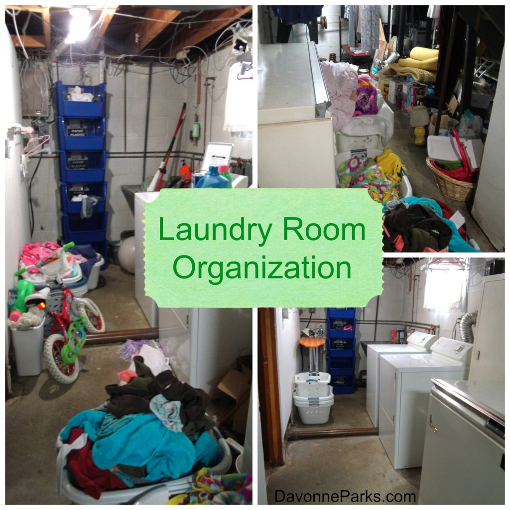 Thirty Minute Laundry Room Organization And Thoughts About