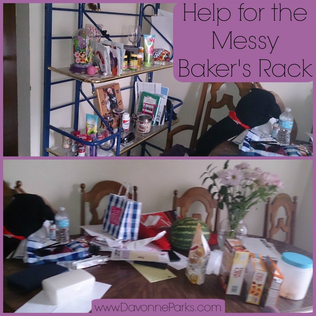 Messy Work Kitchen: Help For The Messy Baker's Rack