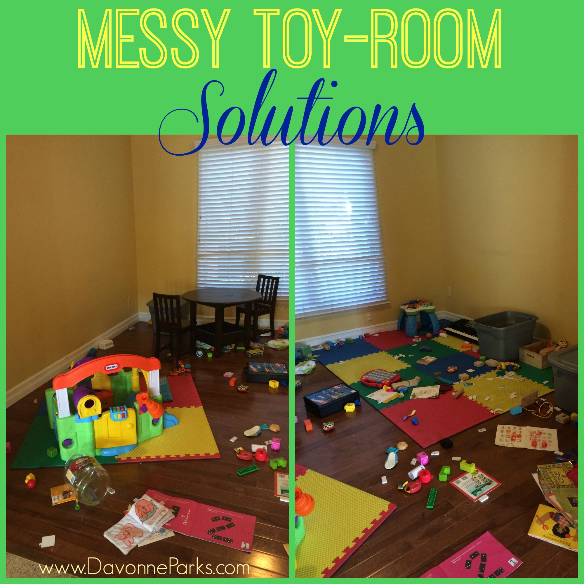 Messy Living Room: Messy Toy Room Solutions