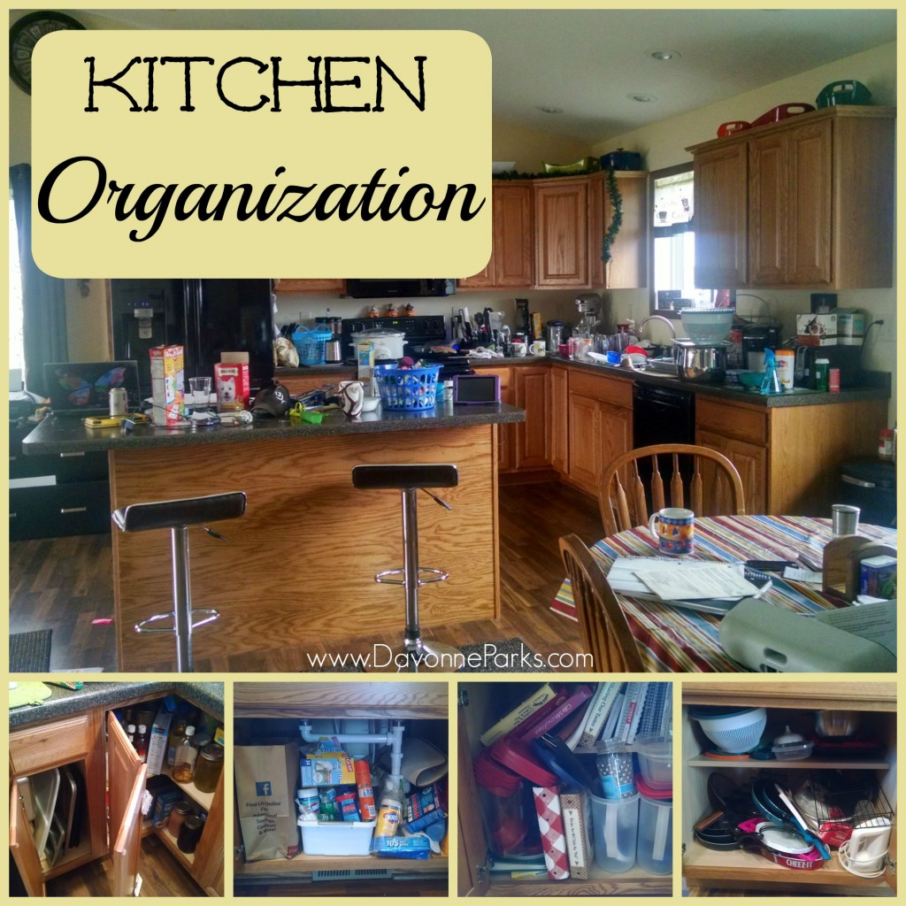 Organizing Kitchen Cabinets Countertops Davonne Parks
