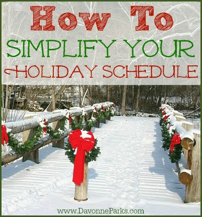 Simplify-Holiday-Schedule