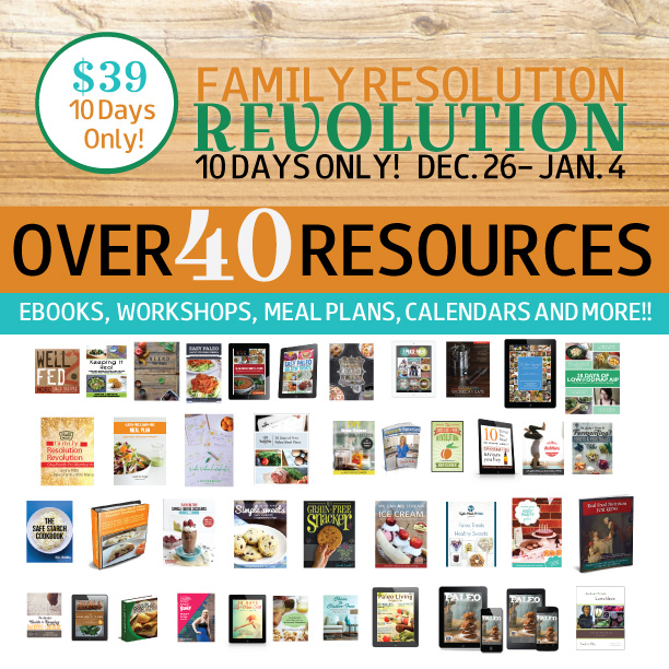 Social Media, Family Resolution Revolution Graphic