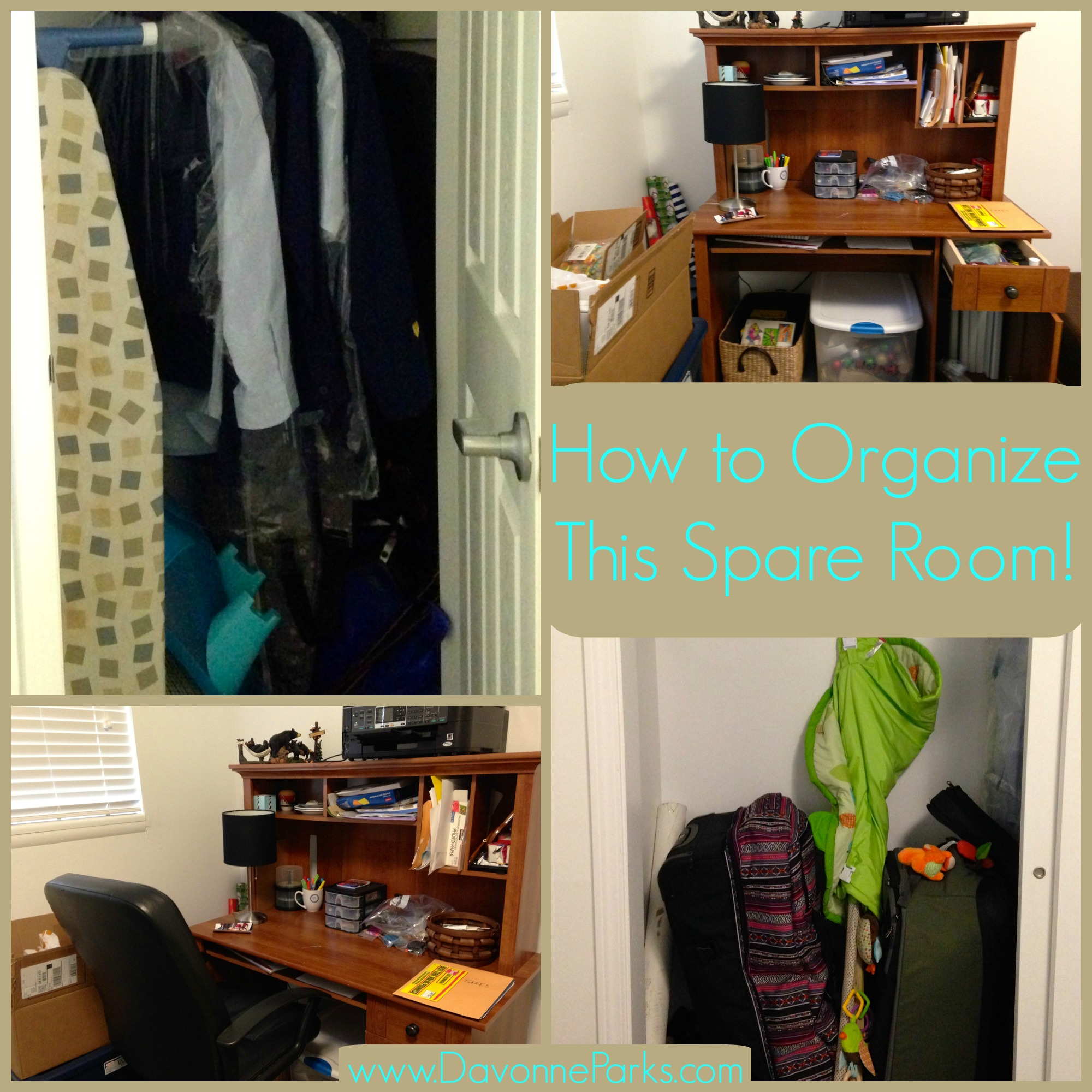 3 Simple Tips For Organizing Your Spare Room
