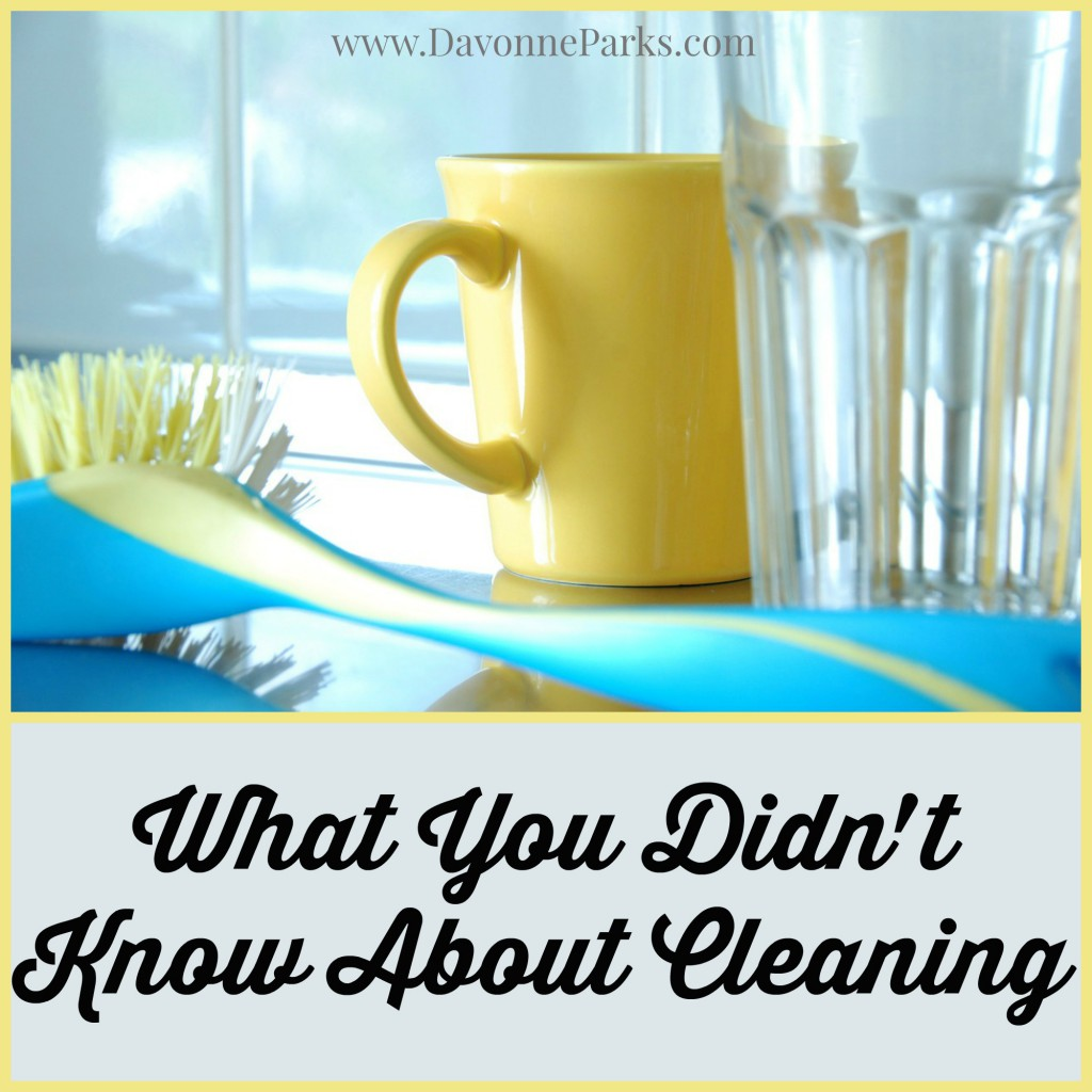 What You Didn't Know About Cleaning. WOW, this article is fabulous! A must-read!
