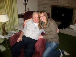 Grandpa and Me, December 2011