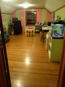 Schoolroom After