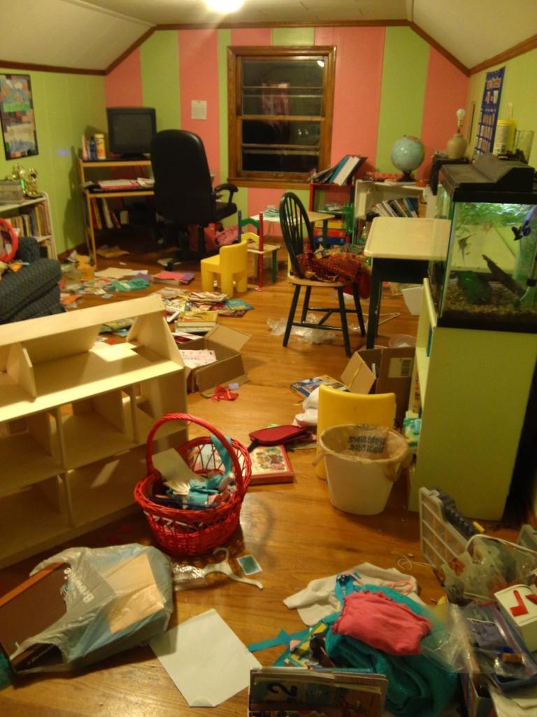 Schoolroom Before