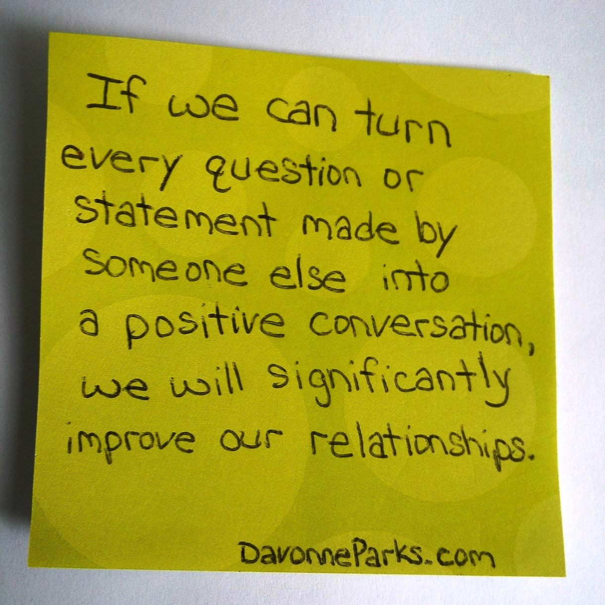 How to Improve Nearly Every Relationship