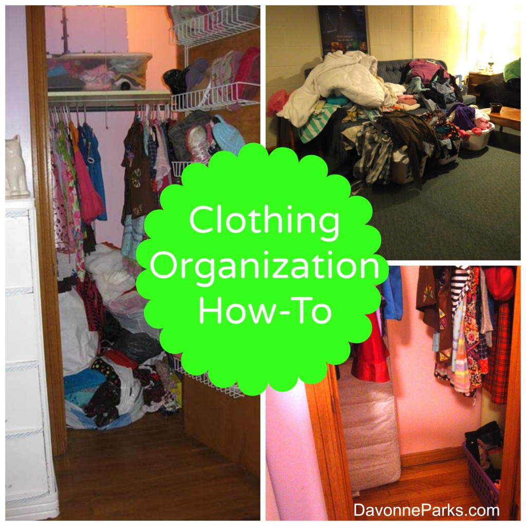Clothing Organization How-To