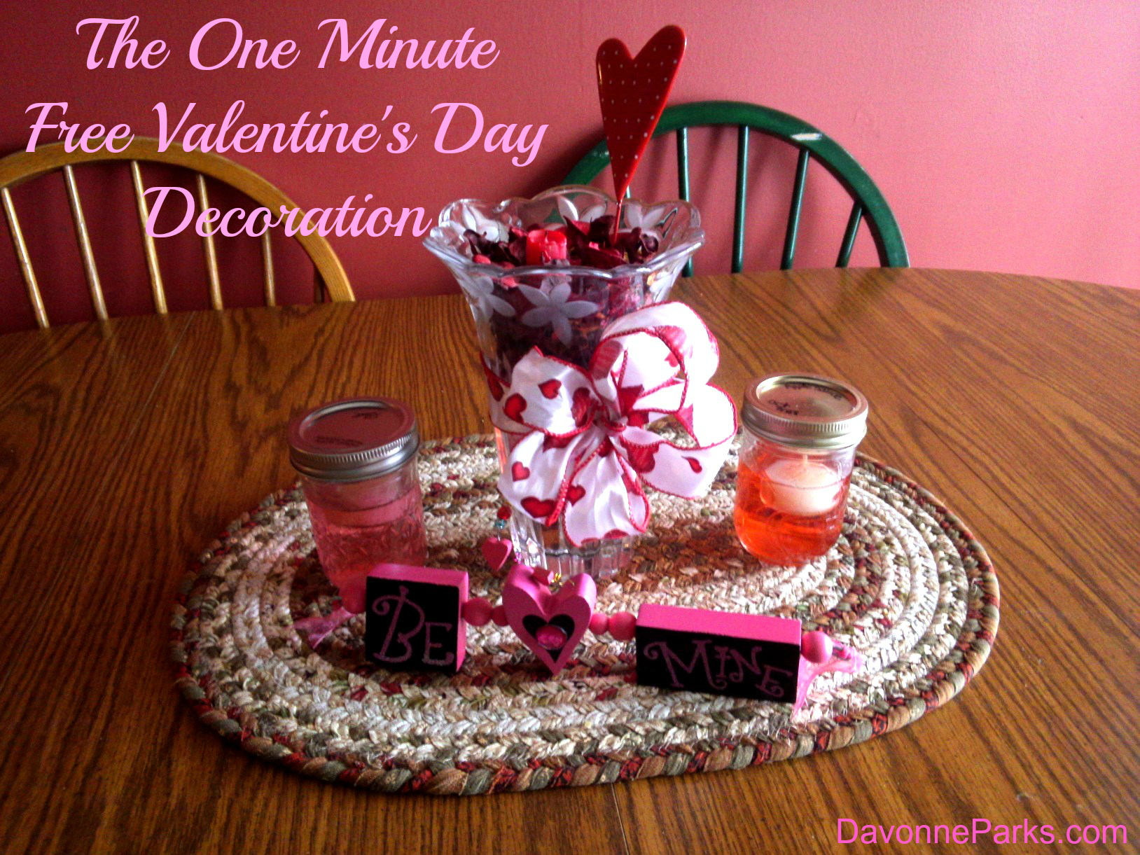The Free, One-Minute Valentine's Day Decoration
