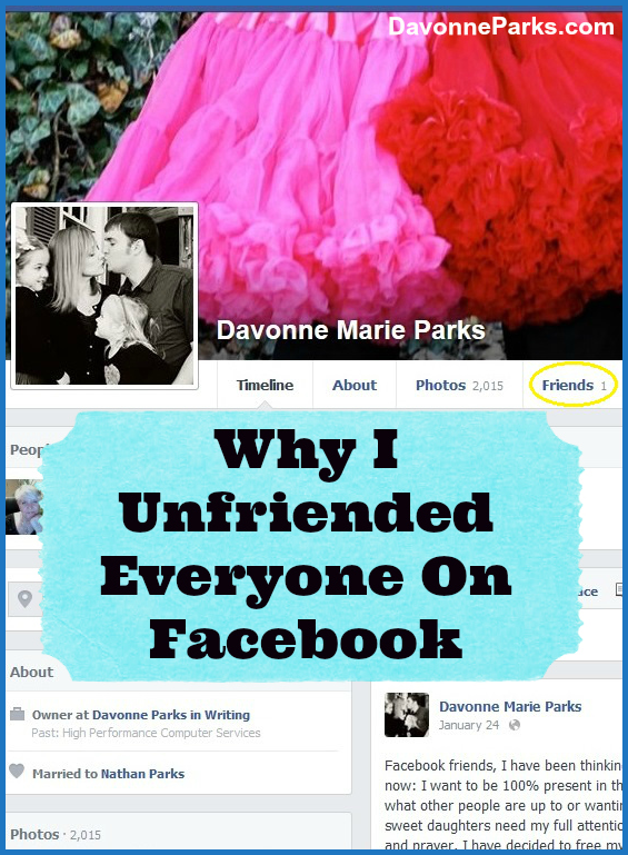 Why I Unfriended Everyone On Facebook