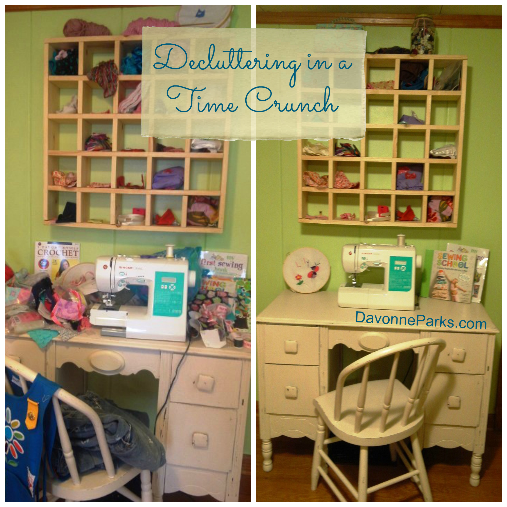 Speed Decluttering – For When You're In a Time-Crunch