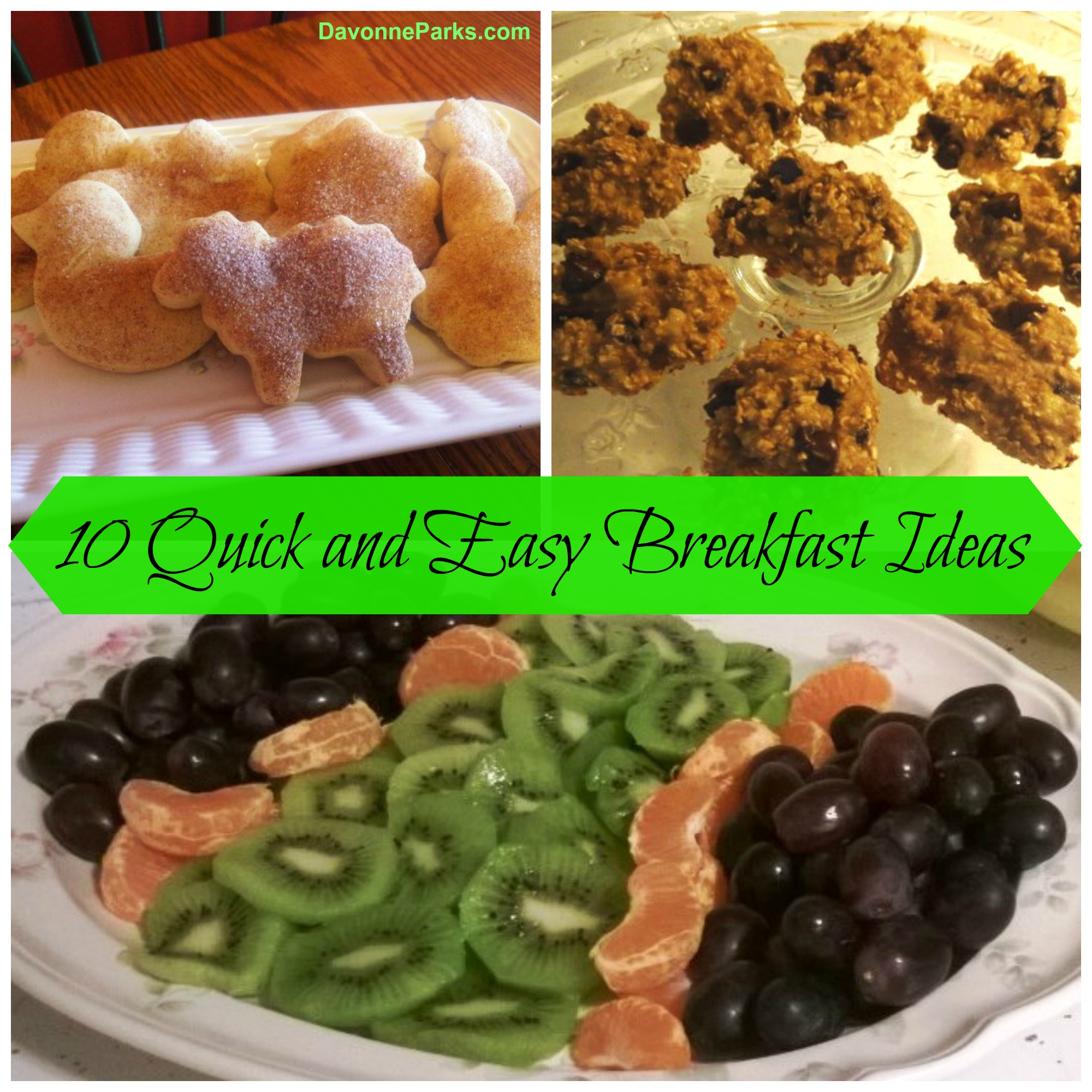 10 Simple Homemade Breakfast Ideas