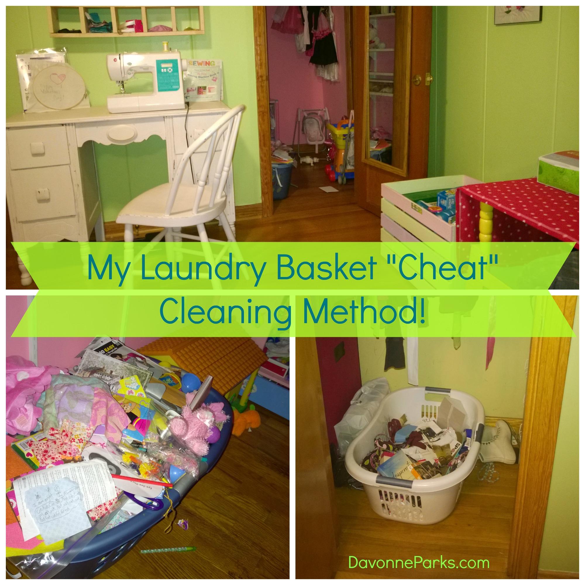 My Laundry Basket Cheat Method