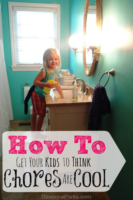 Want your kids to think chores are fun? Check out these great tips for ideas!