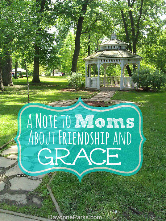 A Note About Friendship and Grace