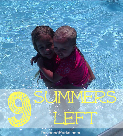 The days are long but the years are short. How many summers do you have left with your kids?