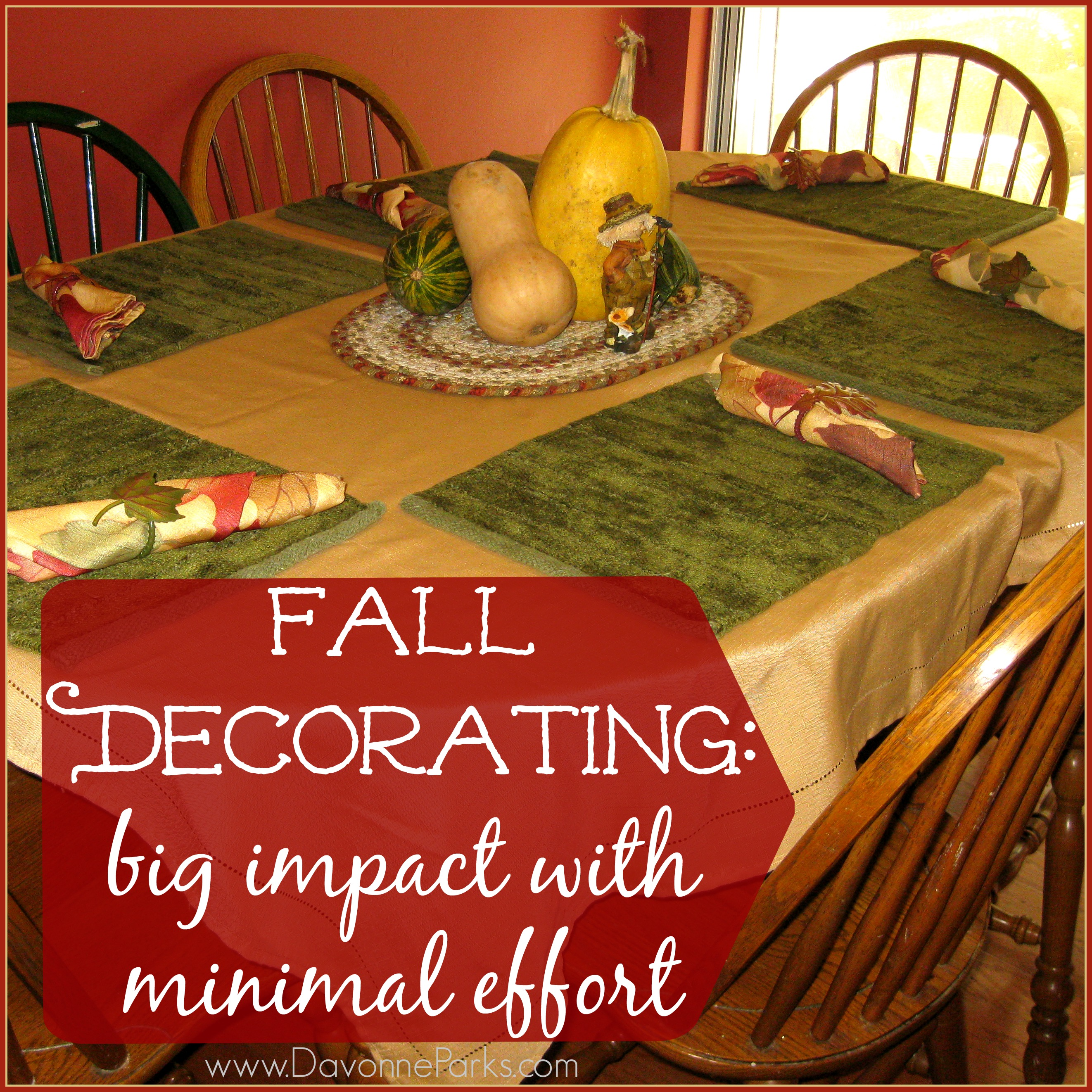 Six simple ways to invite fall into your home