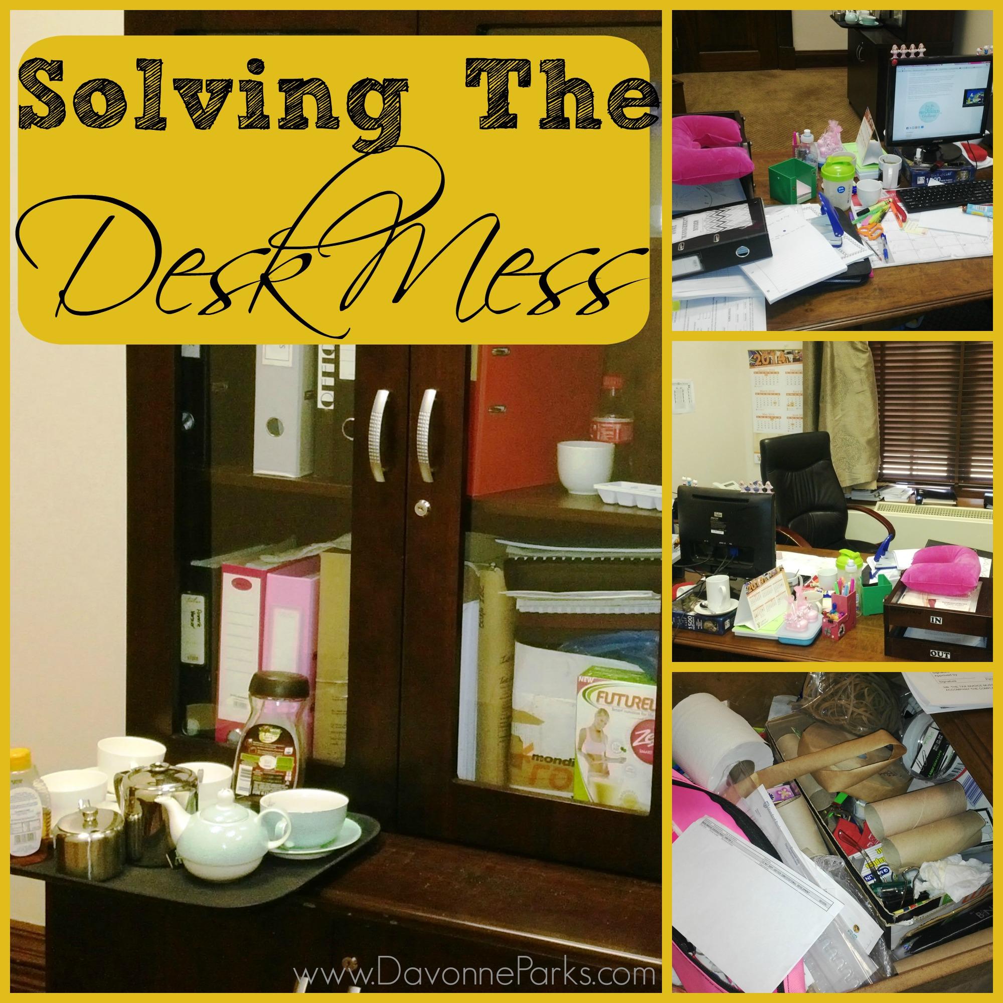 Solving the Desk Mess