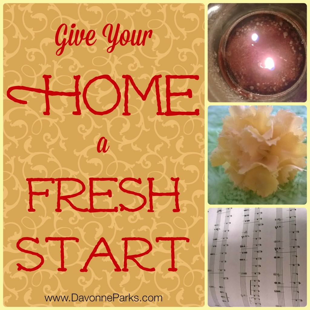 Give your home a fresh start with these simple tips!