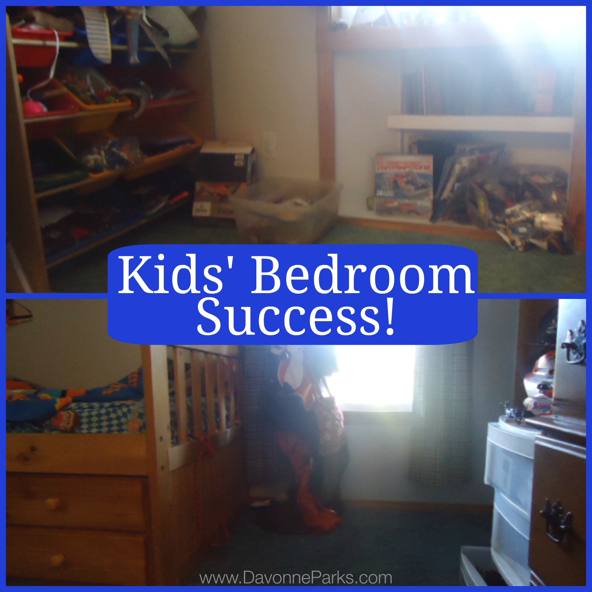 Kids' Bedroom Success!