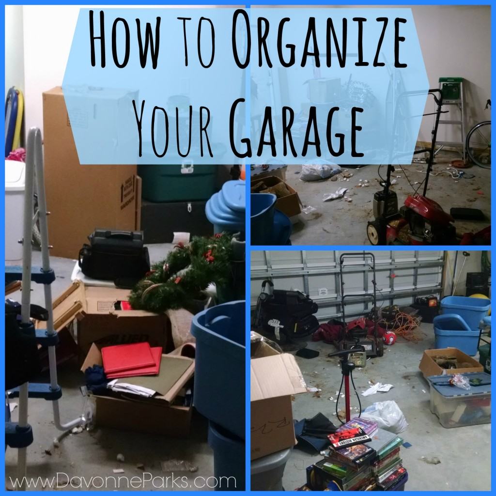 How to organize your garage!