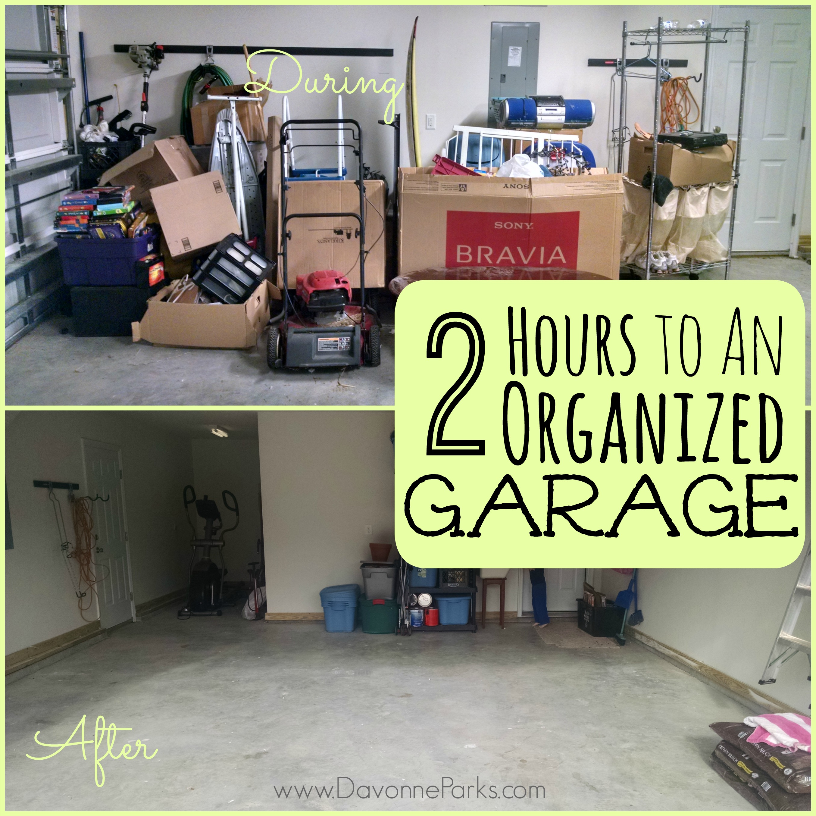 Two Hours to an Organized Garage (Reader's Success Story!)