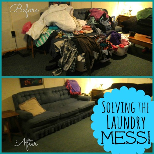 Solving a Reader's Laundry Mess!