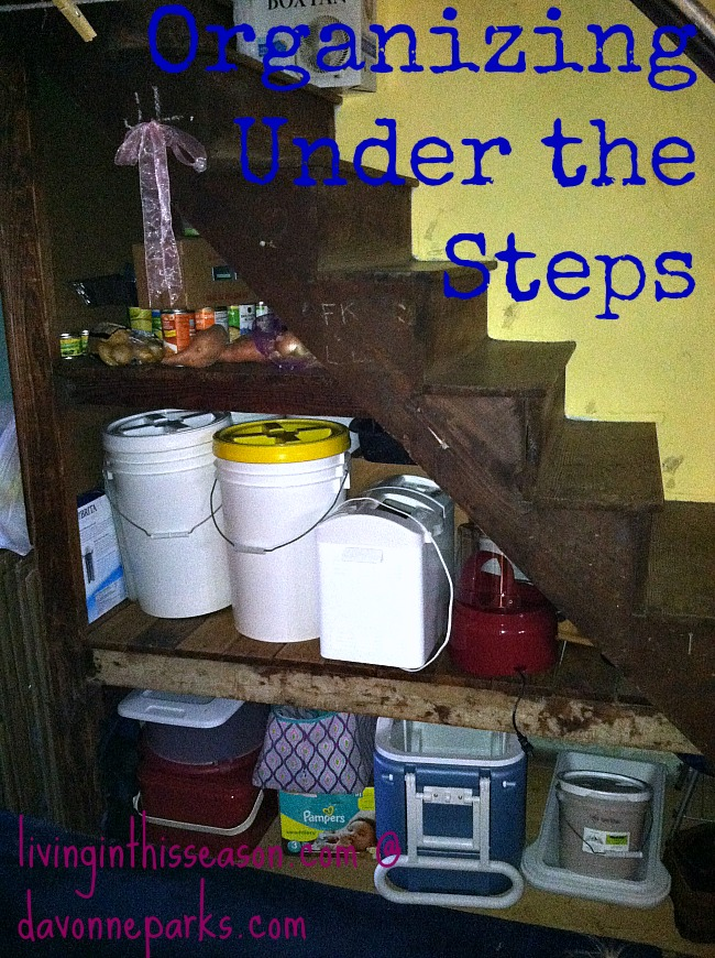 The Under-the-Step Mess