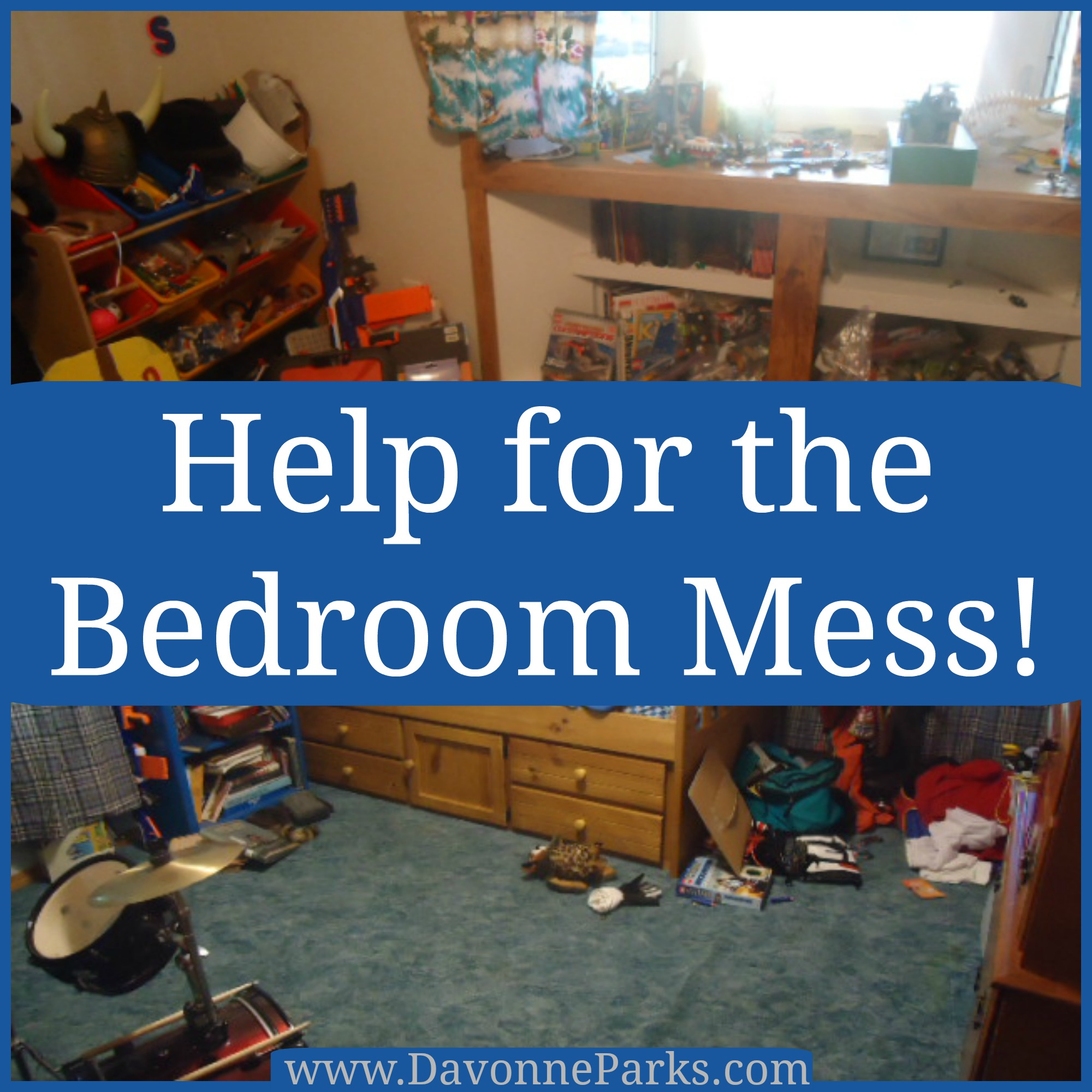Help for the Kid's Bedroom Mess