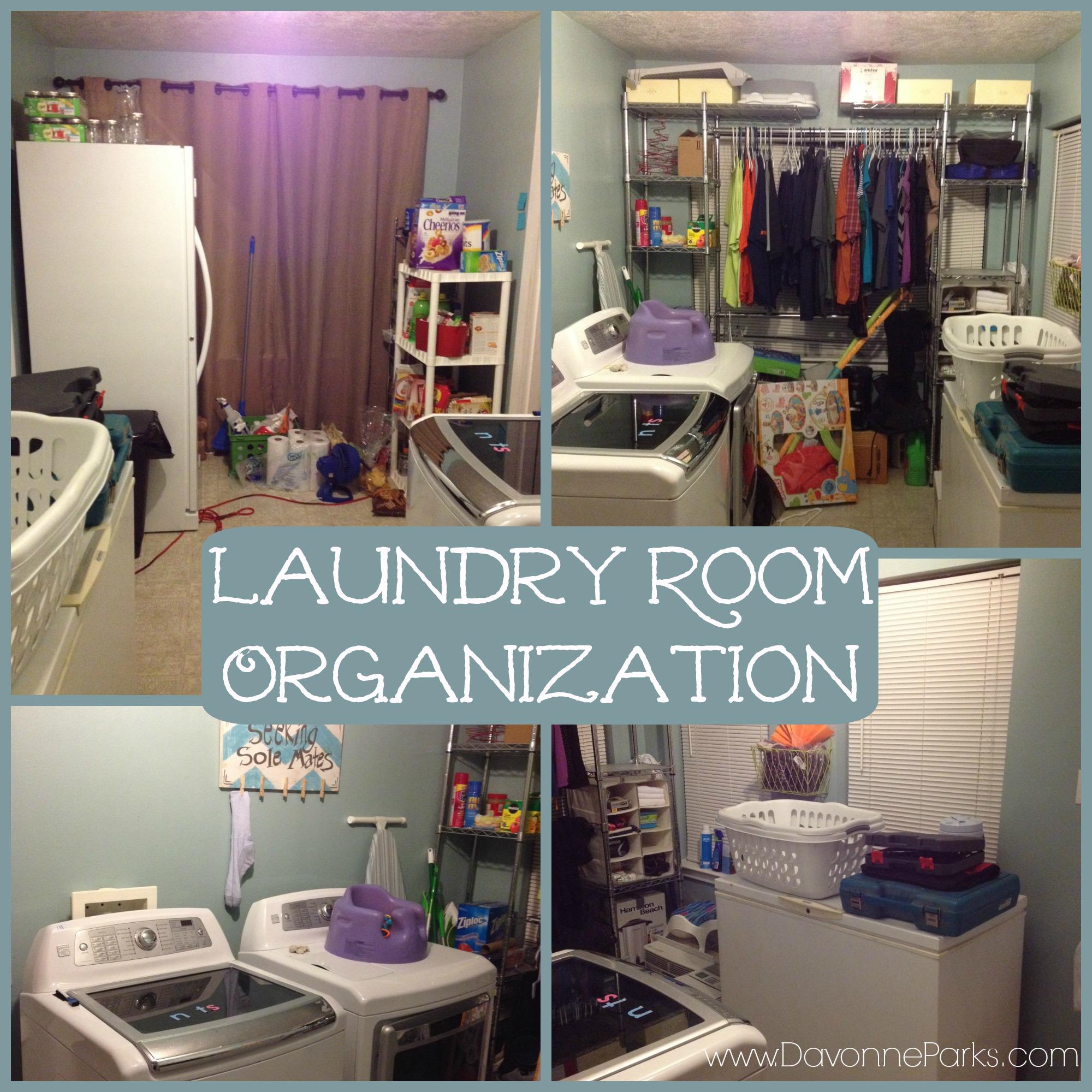 Laundry Room Beautification