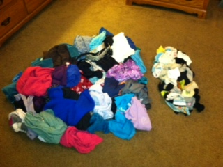 A Reader's Laundry Success!