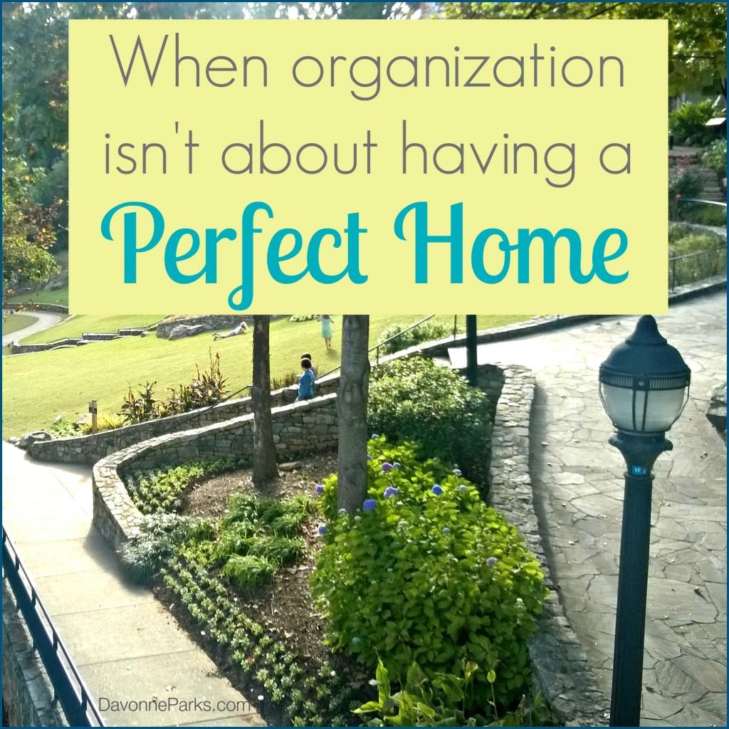 organization-not-perfection