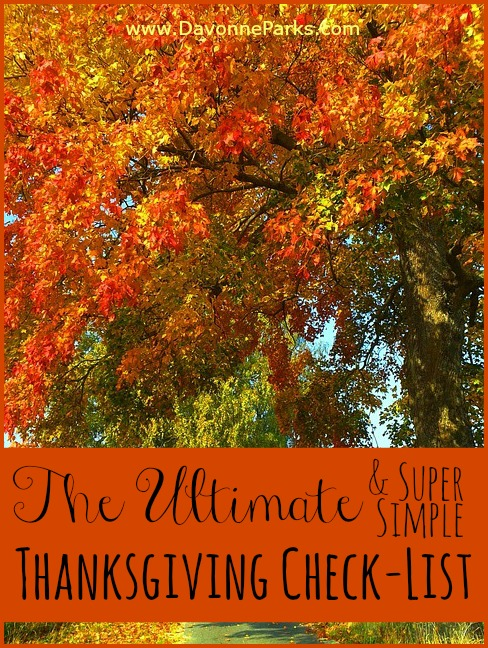 The Simplified Last-Minute Thanksgiving Guide