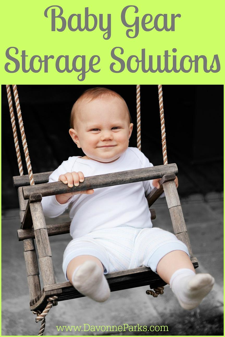 Baby Gear Storage Ideas