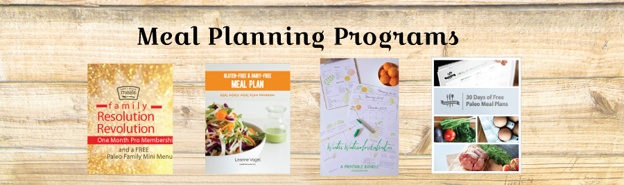Family Resolution Revolution - Meal Planning Programs