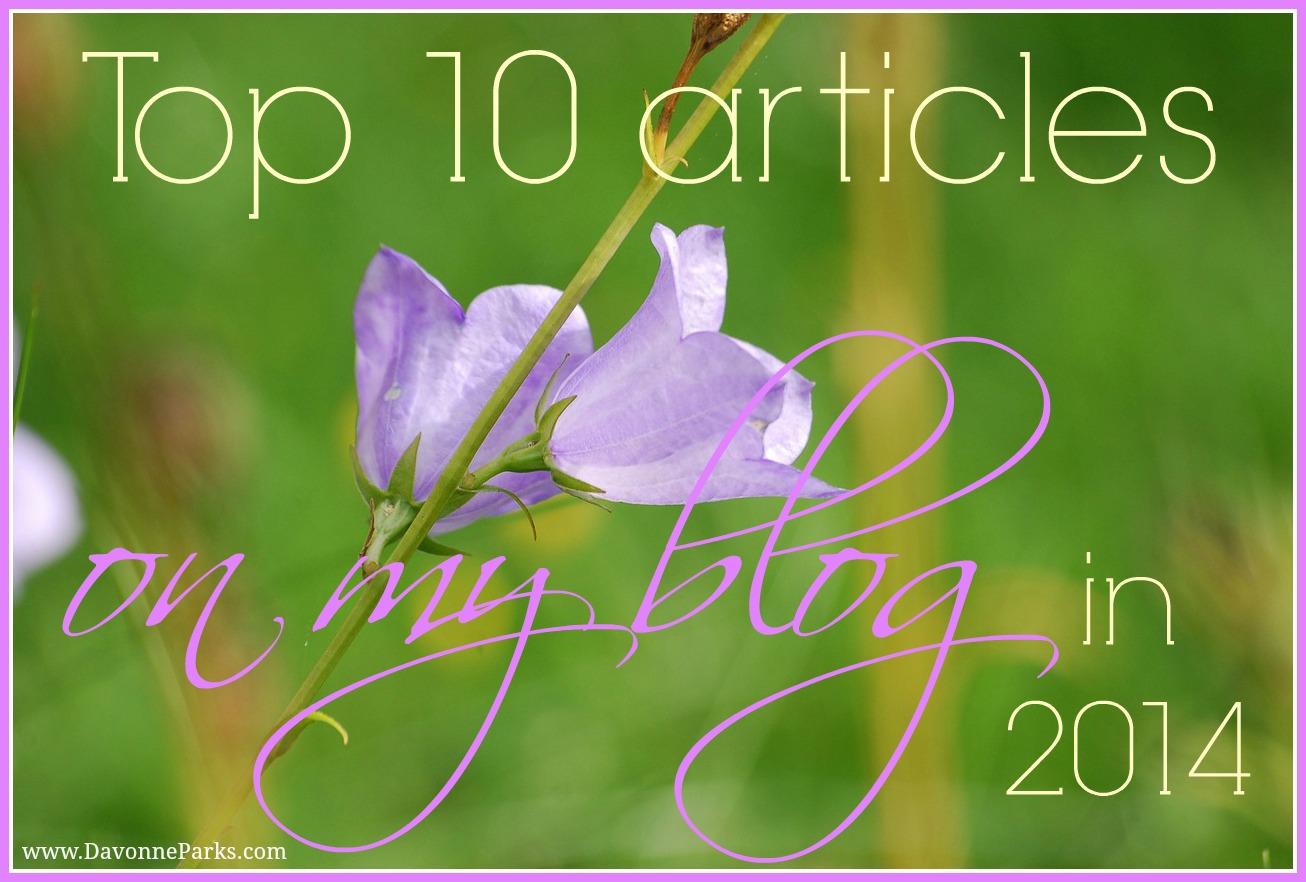 Top 10 Posts on My Blog in 2014