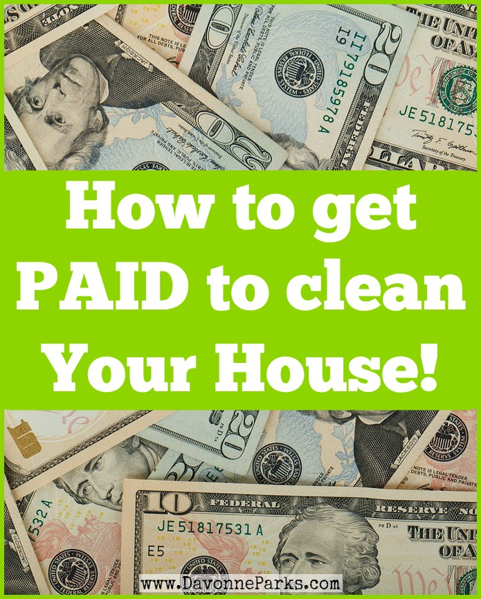 How to get paid to clean your house - this is AMAZING! I can't wait to enter this $100 giveaway, just for sharing a before & after photo of my space!