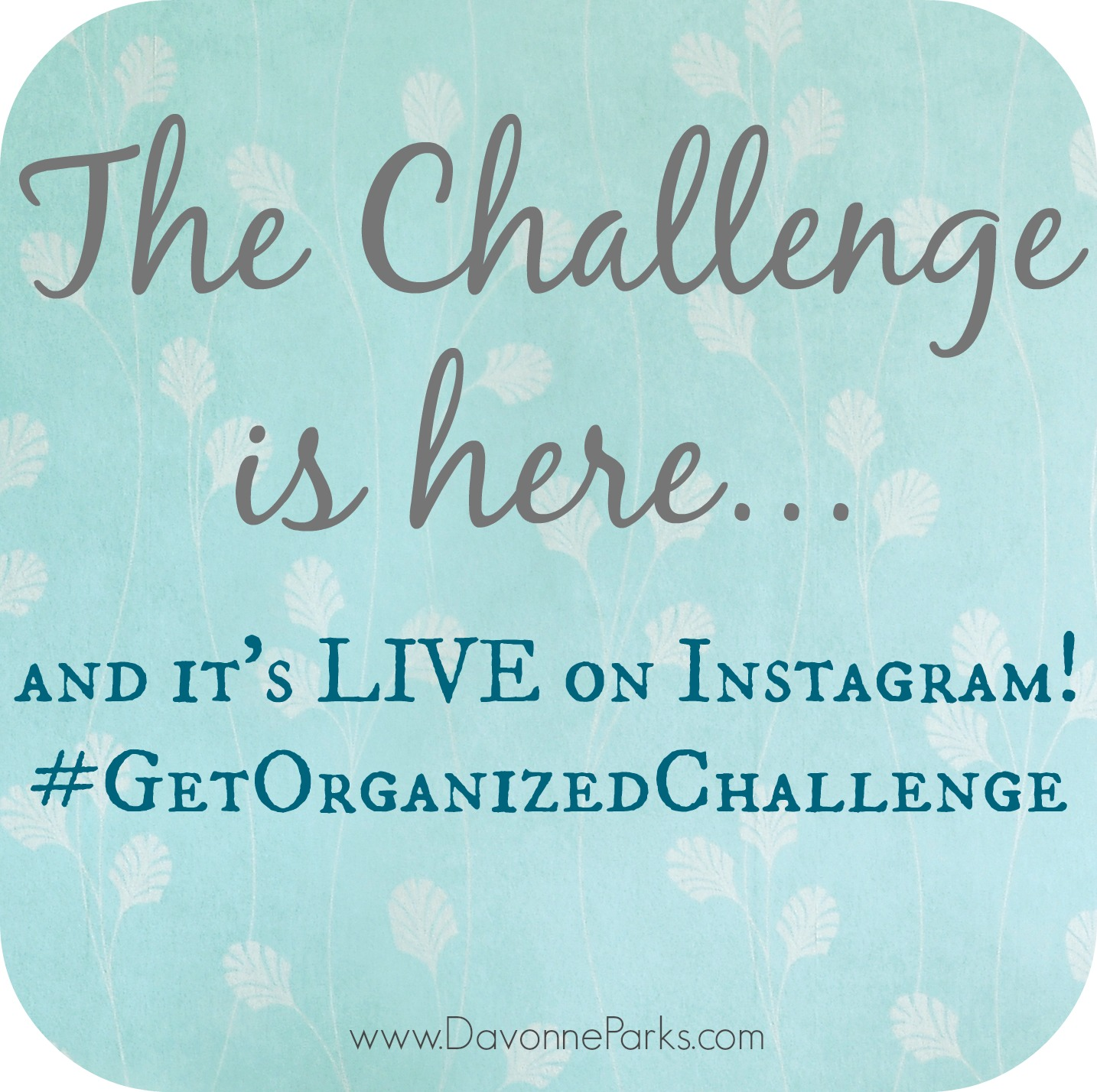 Don't Forget! Live Declutter is TODAY!