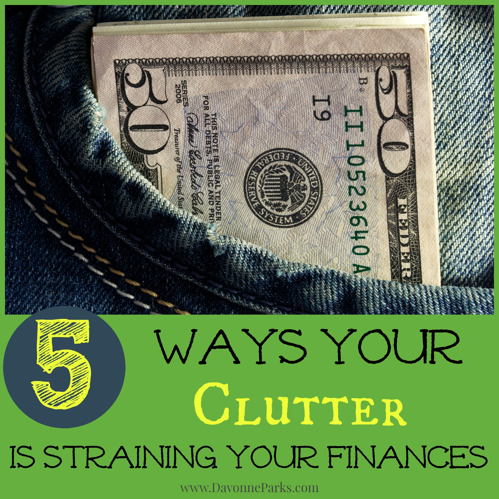 5 Ways Your Clutter is Straining Your Finances