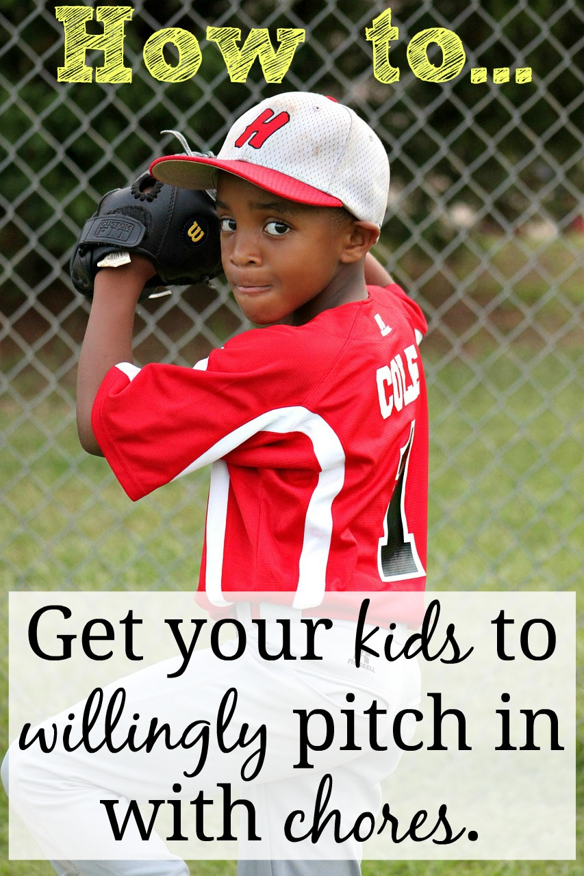 How to Get Your Kids to Willingly Pitch in With Chores