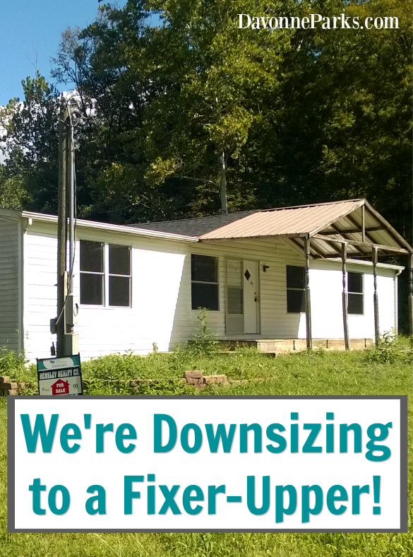 We're Downsizing to a Fixer-Upper {And a $100 Dayspring Giveaway}