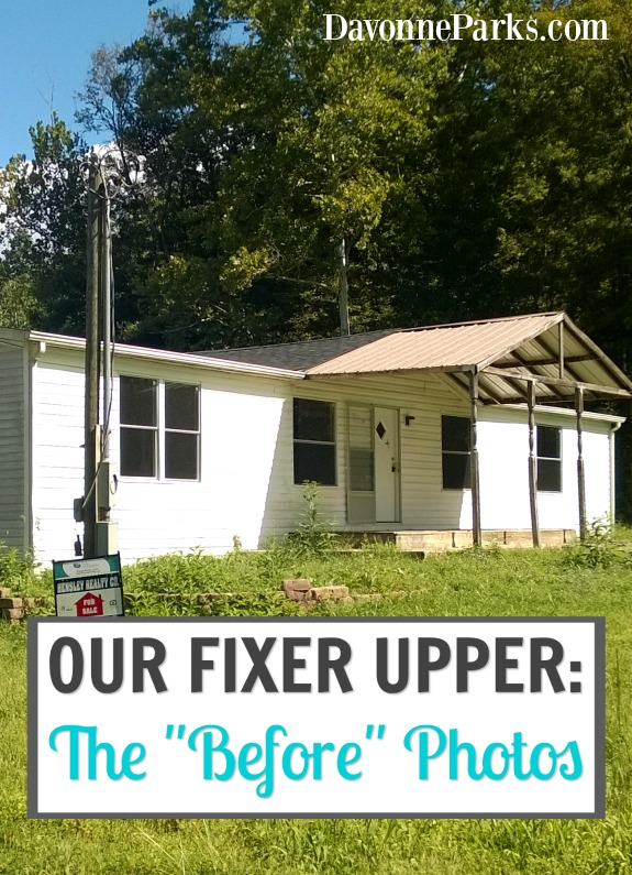 "Our Fixer-Upper: The ""Before"" Photos"