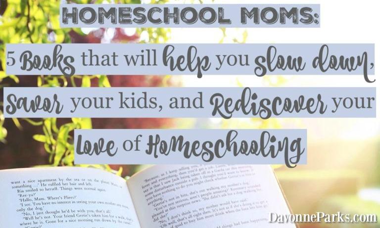 https://davonneparks.com/homeschool-mom-books/
