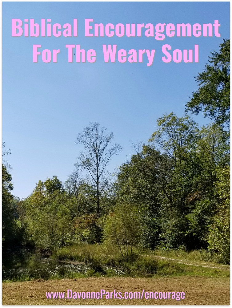 Biblical Encouragement for the Weary Soul