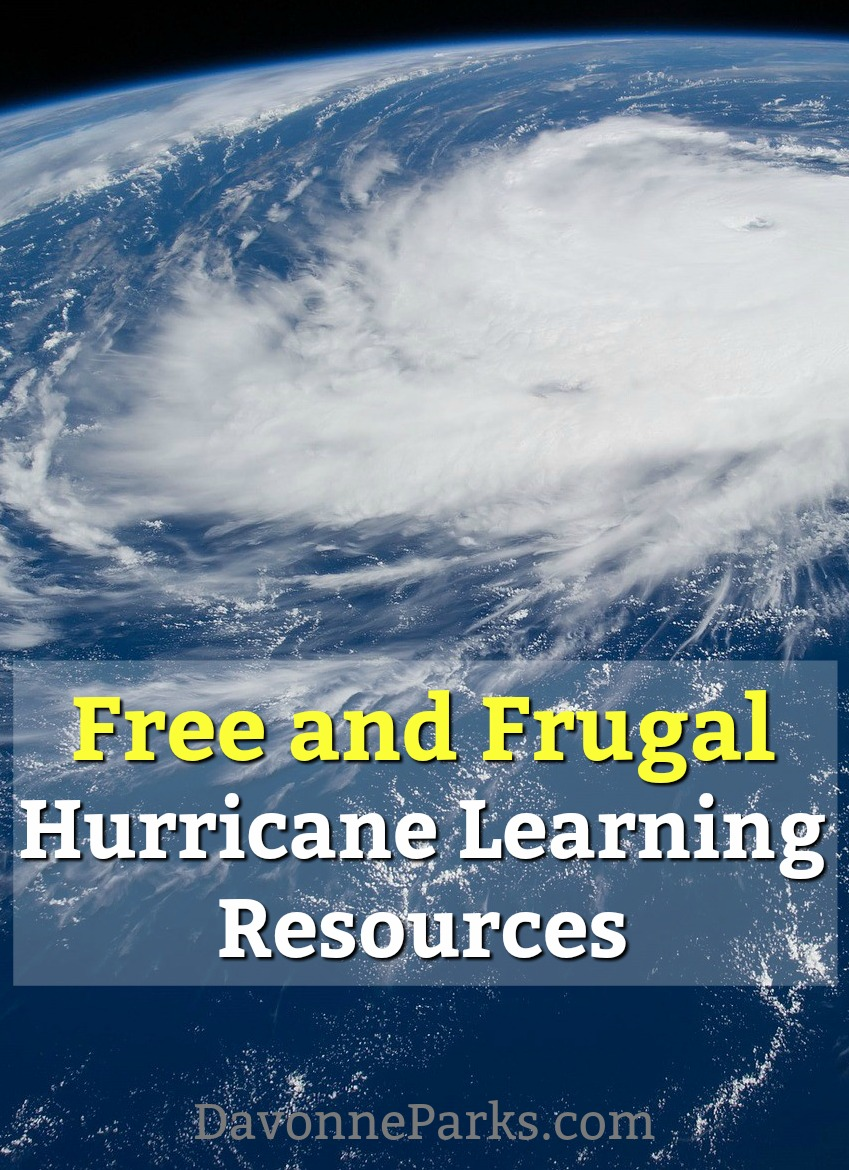 FREE and Frugal Hurricane Learning Resources