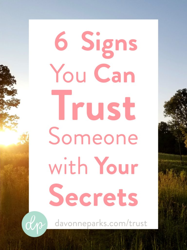 Person you can trust