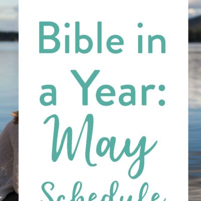 May's Bible Reading Schedule