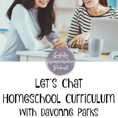 Let's Talk About Homeschool Curriculum!